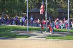 Brownie Magic Flag Ceremony